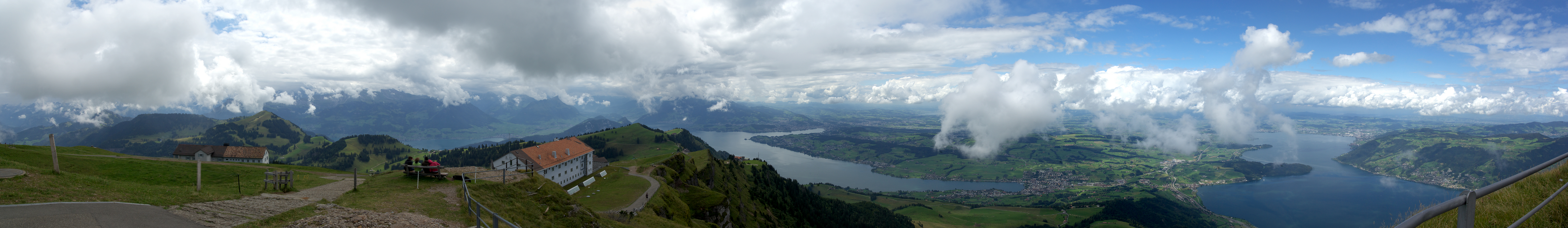Switzerland - Mt Rigi looking towards Lucern